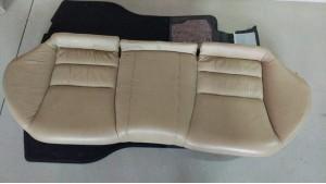 Диван заднего сидения бежевый Хонда Аккорд 7