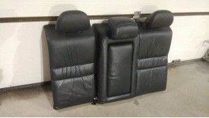 Спинка заднего сидения. Черная кожа Хонда Аккорд 7
