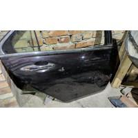 Дверь задняя правая Хонда Аккорд 7 дефект коричневая